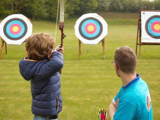 You can take part in the Big Weekend of Archery.