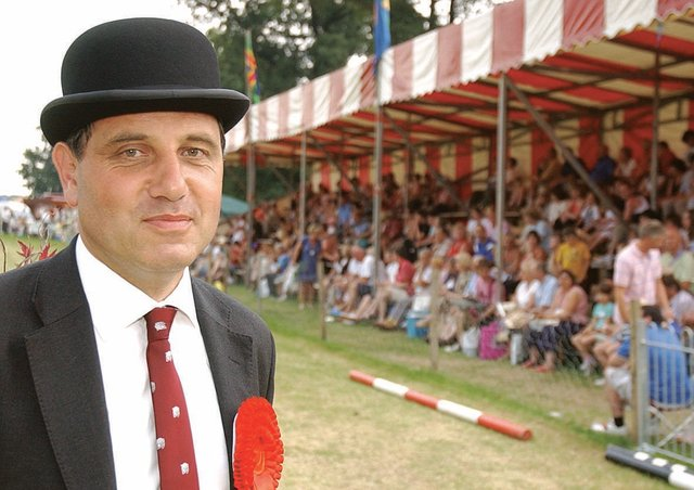There will be no grandstand this year and more space for social distancing says Heckington Show chairman Charles Pinchbeck. Photo: 7833SA-170 EMN-210507-110827001