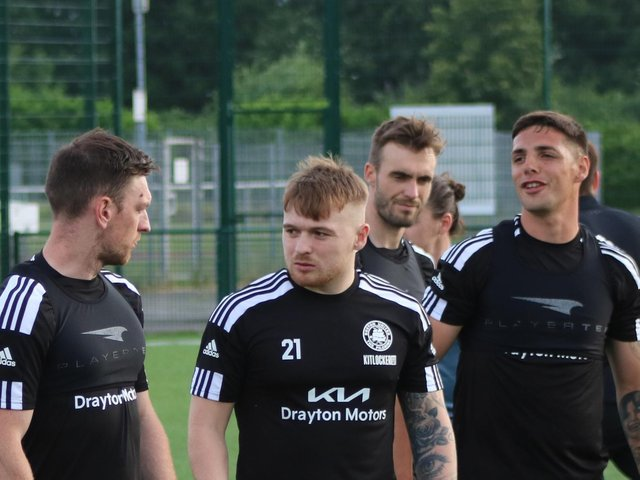 United's squad will return to match action against Matlock. Photo: Oliver Atkin