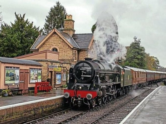 The Royal Scotsman is returning to Skegness on Saturday, September 25.