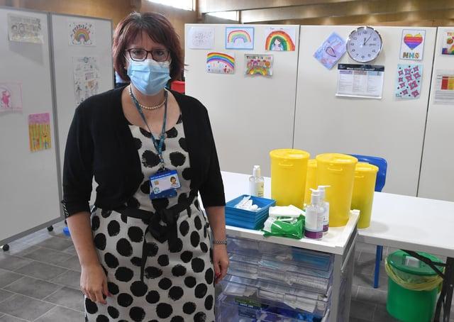 Deputy chief nurse of Lincolnshire CCG, Rebecca Neno. EMN-210614-111902005
