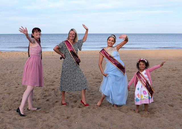 The Carnival Queen handover will take place in Mablethorpe at the end of this month