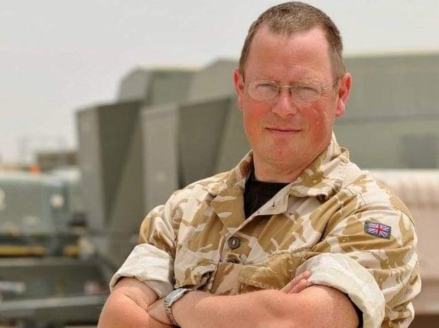 Flying Officer (RAFAC) Nigel 'Nige' Price.