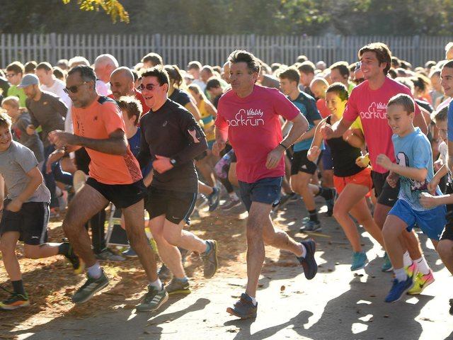 Parkruns will return later this month. Photo: Getty Images