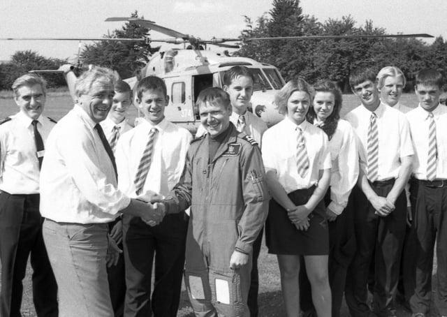Kirton Middlecott School, 25 years ago.
