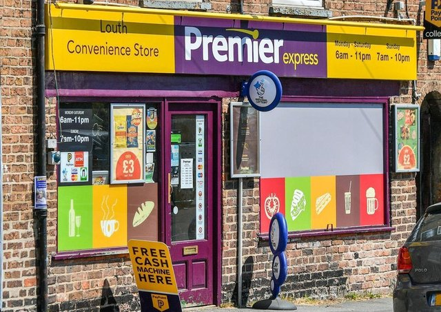 The Premier Express store in Newmarket, Louth.
