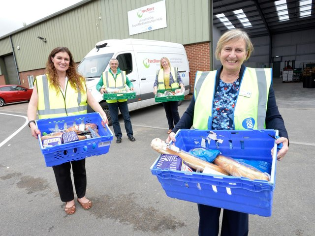 FareShare, the first food redistribution hub in Lincolnshire has opened in the fight against food poverty.