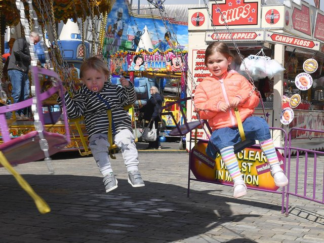 Fun at the fair back in 2019 when it last came to town