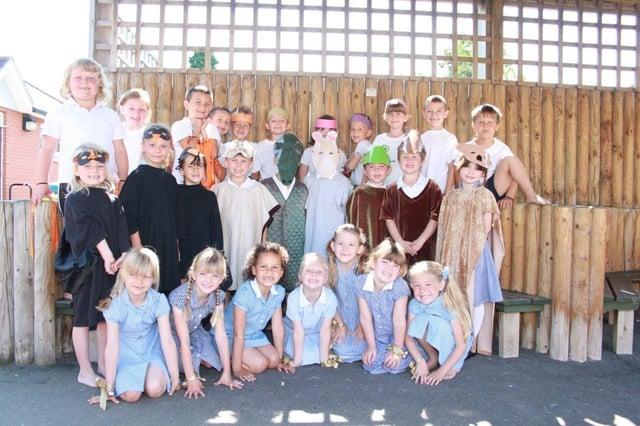 Skegness Infants School 10 years ago ...