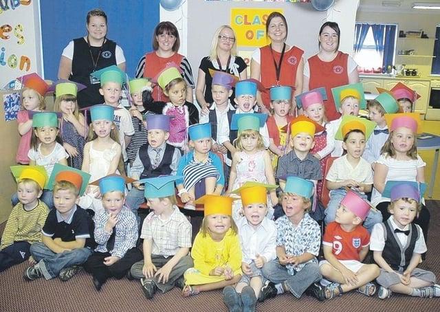 Sleaford Day Nursery 10 years ago.