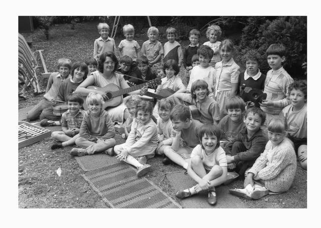 Gipsey Bridge Primary School 35 years ago.