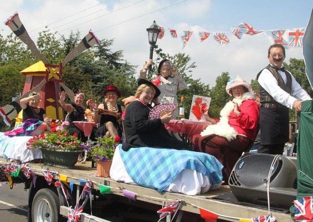 The winning Chapel Twinning Association float.