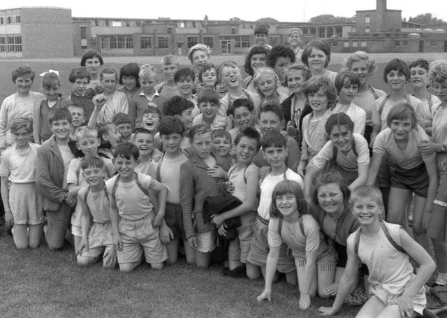 Sports day fun in Boston 60 years ago.