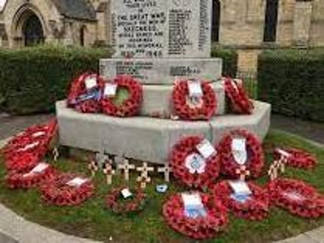 Wreaths will be laid at the memorial in Skegness on VJ Day, August 15.