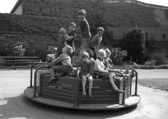 Boston's Central Park in 1966.