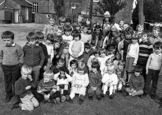 Amber Hill School, 35 years ago.