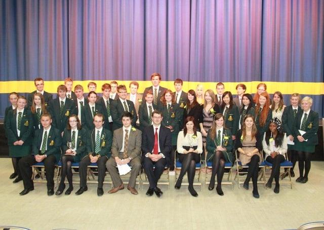 Skegness Grammar School, 10 years ago.