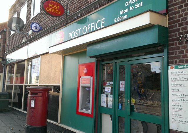 Sleaford main Post Office closed on Southgate in February when the lease expired.