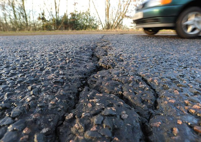 Lincolnshire County Council is highly rated by the AA for its road repair efforts. Photo: Paul Franks