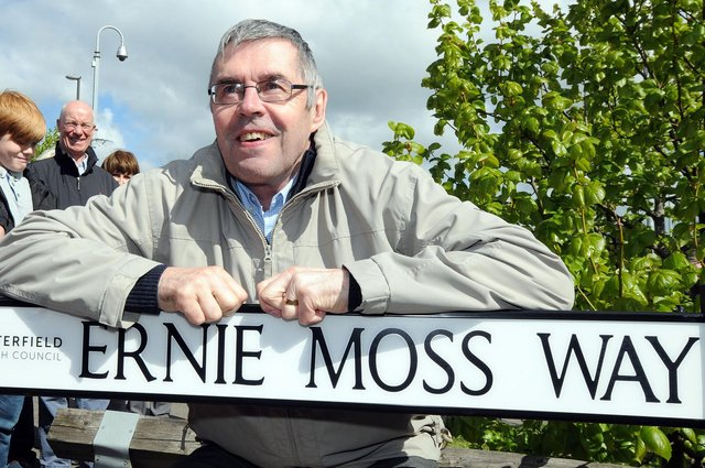 Ernie Moss has sadly died, aged 71.