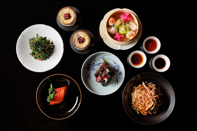 The delicious dishes of the Occasions by Hakkasan signature box. Image: Hakkasan