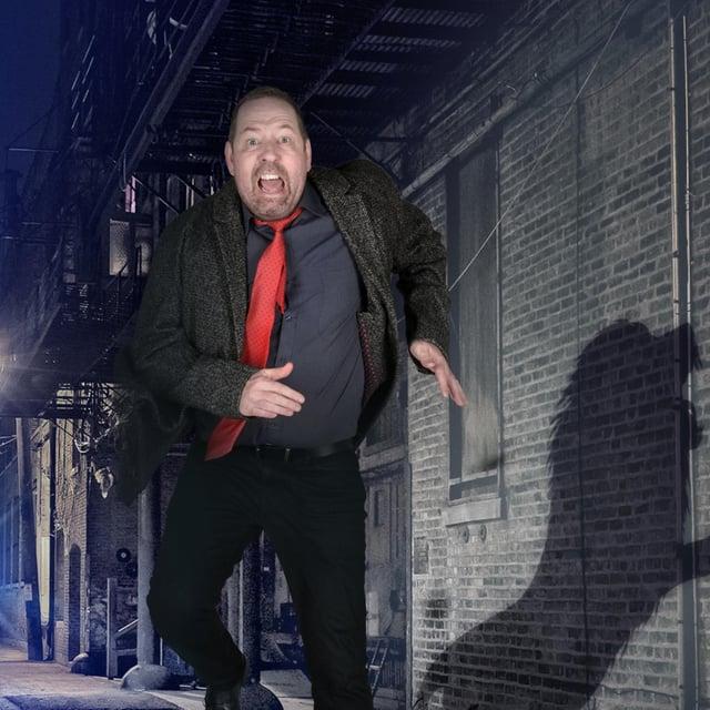 Former police officer turned comedian Alfie Moore