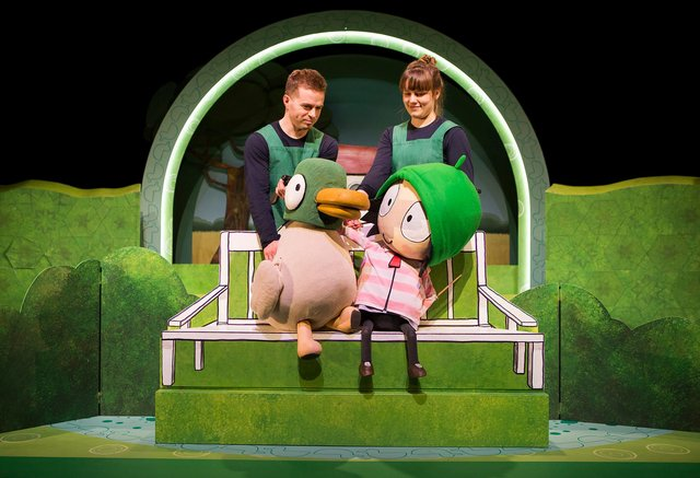 See Sarah and Duck when it hits the stage in the area. (Photo credit: Pamela Raith)