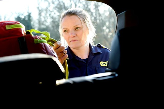 Rachael Etches, Community First Responder, LIVES
