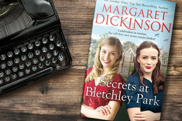 Author Margaret Dickinson takes readers inside the Secrets at Bletchley Park – and you could win a signed copy