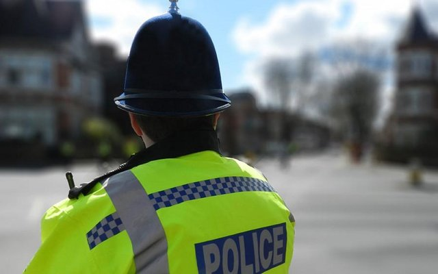 A section of the street was evacuated around concerns of a gas leak as a result of the crash