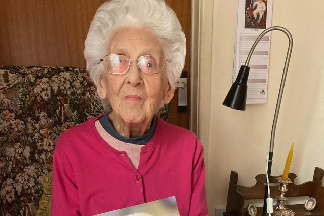 Dorothea May Colver has celebrated her 100th birthday