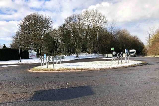 A631 Harpswell Roundabout