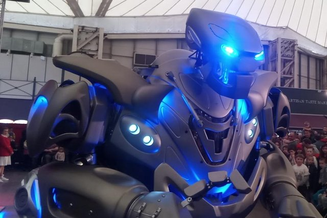 Titan the Robot in the Skyline Pavilion, Butlin's, Minehead