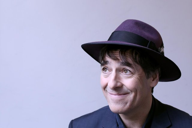 See comedian Mark Steel's rescheduled show at Scunthorpe's Plowright Theatre.