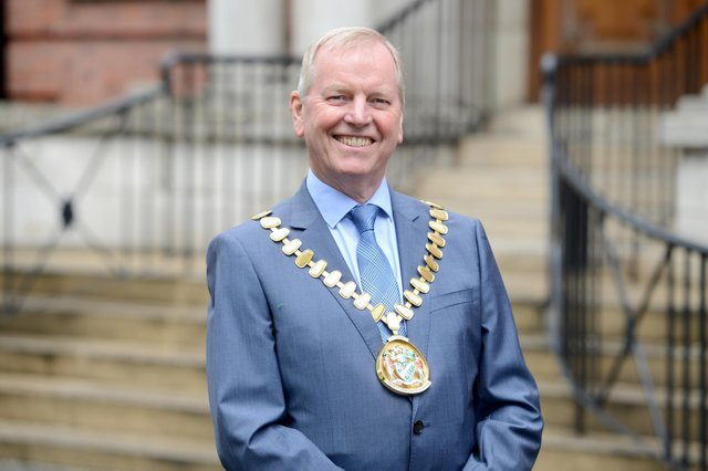 CounMichael Brookes has been re-elected as Lincolnshire County Council chairman