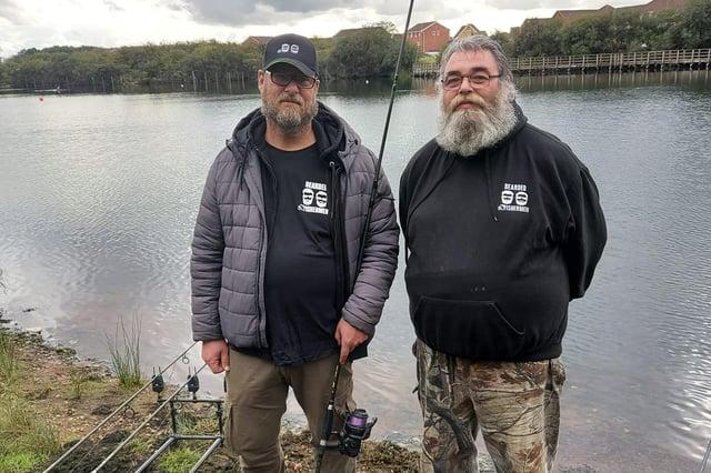 Rick Roberts and Mick Leyland