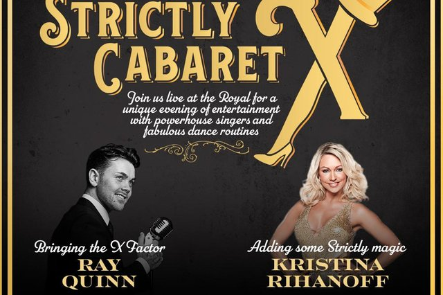 See Strictly Cabaret X at the New Theatre Royal Lincoln