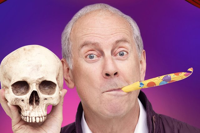 Don't miss the chance to see Gyles Brandreth - Break A Leg!