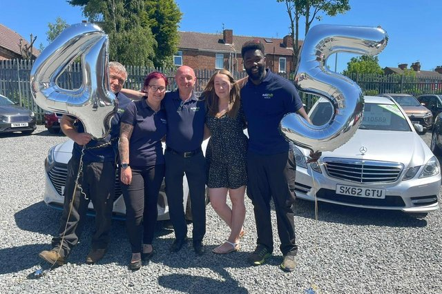 The Autohub team delivered 45 cars in May