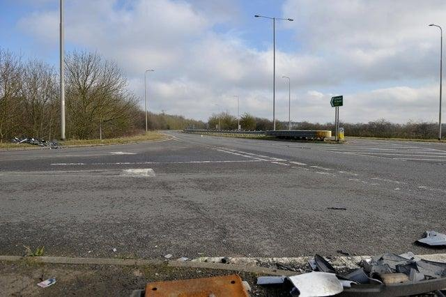The Corringham Road junction has been the scene of many accidents.