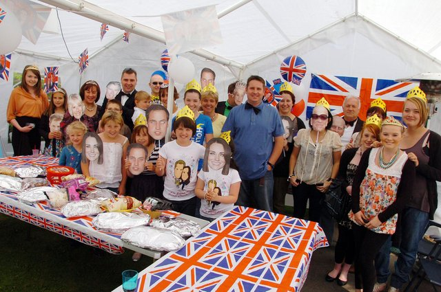 The Hawcroft family from Woodhill Avenue in Gainsborough held a special to garden party to celebrate the Royal Wedding and to mark their daughter Molly's 15th Birthday