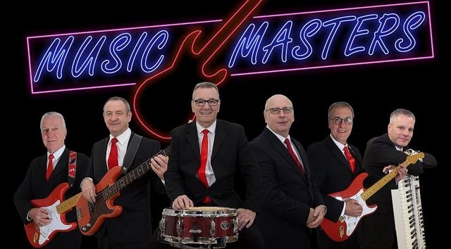 See Music Masters performing at Gainsborough's Trinity Arts Centre later this year.