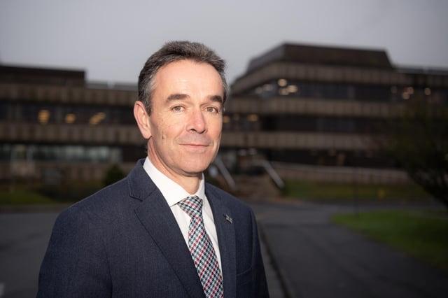Chief Constable Chris Haward