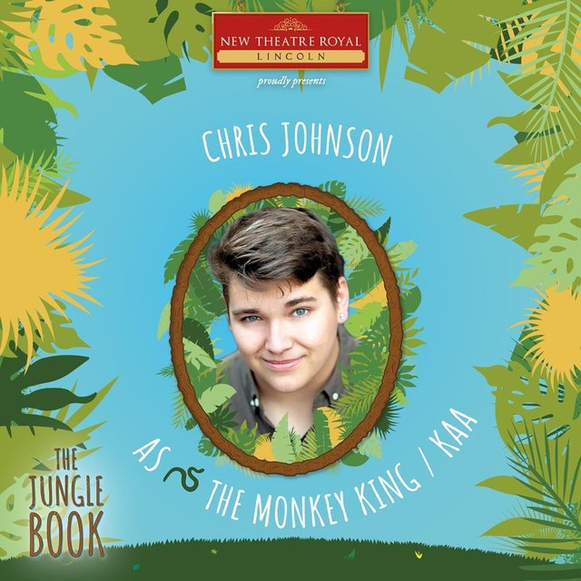 Chris Johnson will star in The Jungle Book next year at New Theatre Royal Lincoln