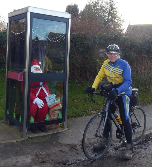 Trevor Halstead in Upton near Gainsborough Christmas Day morning