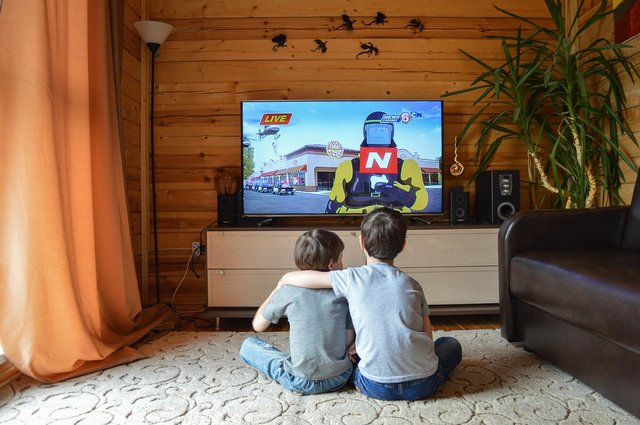 There are many family films and TV box sets to choose from during half term. Image: Pixabay.
