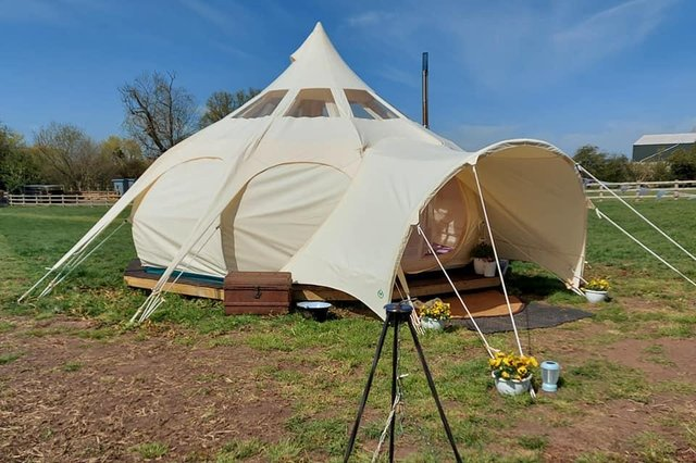 New glamping site at Sunrise Eco Glamping