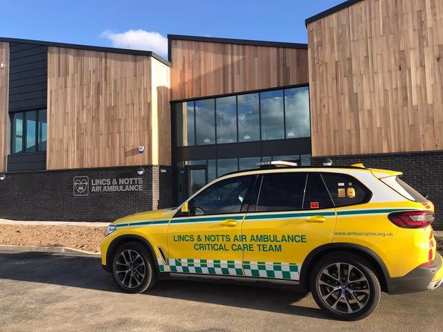 Lincs and Notts Air Ambulance new headquarters