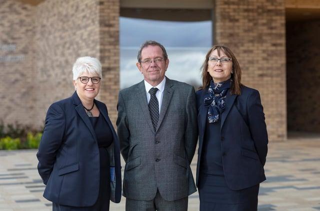 Karen Smith, Tony Kirkham and Deborah Balsdon