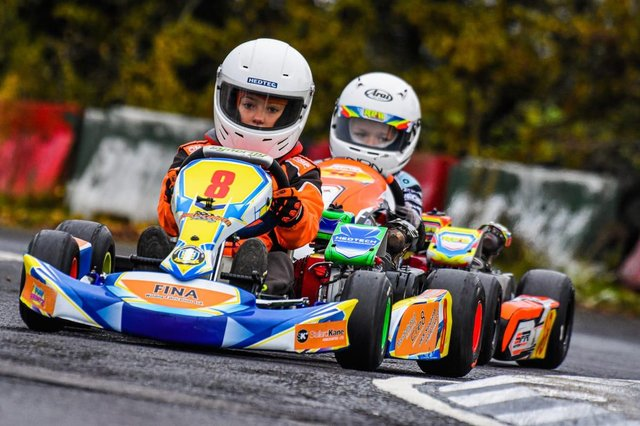 Emily Cooper is hoping for a bright future in motorsport.